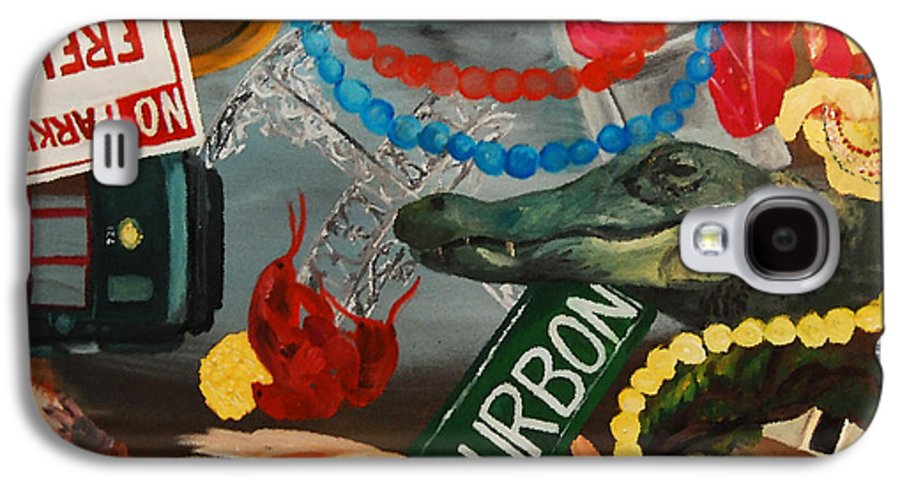 Louisiana Galaxy S4 Case featuring the painting The Big Easy by Lauren Luna