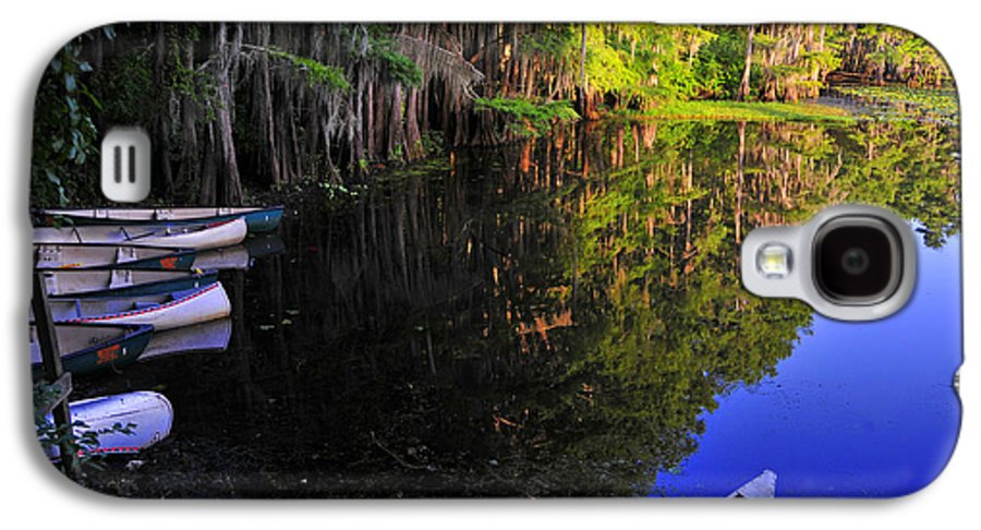 Skip Hunt Galaxy S4 Case featuring the photograph The Black Lagoon by Skip Hunt