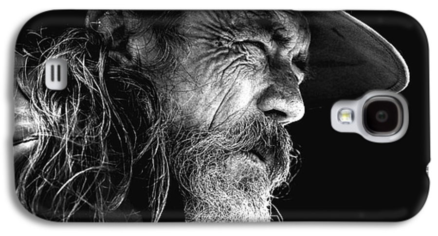 Australian Bushman Hat Galaxy S4 Case featuring the photograph The Bushman by Avalon Fine Art Photography