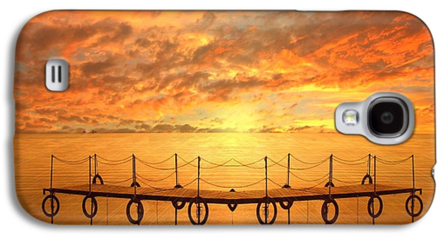 Waterscape Galaxy S4 Case featuring the photograph The Dock by Jacky Gerritsen