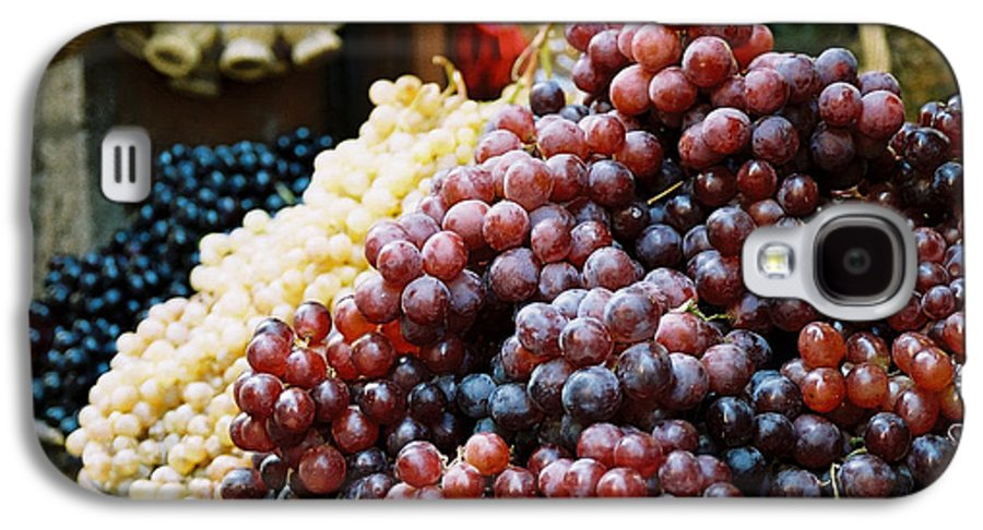 Grapes Galaxy S4 Case featuring the photograph The Drink Of Italy by Kathy Schumann