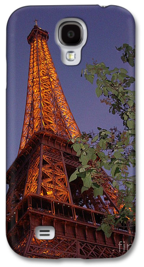 Tower Galaxy S4 Case featuring the photograph The Eiffel Tower Aglow by Nadine Rippelmeyer