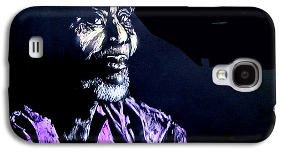Galaxy S4 Case featuring the mixed media The Elder by Chester Elmore