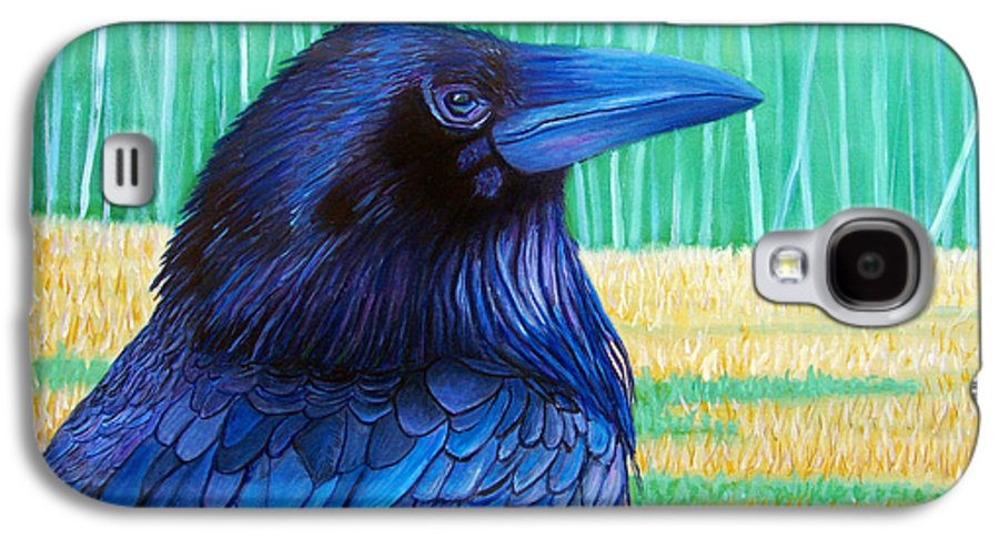 Raven Galaxy S4 Case featuring the painting The Field Of Dreams by Brian Commerford