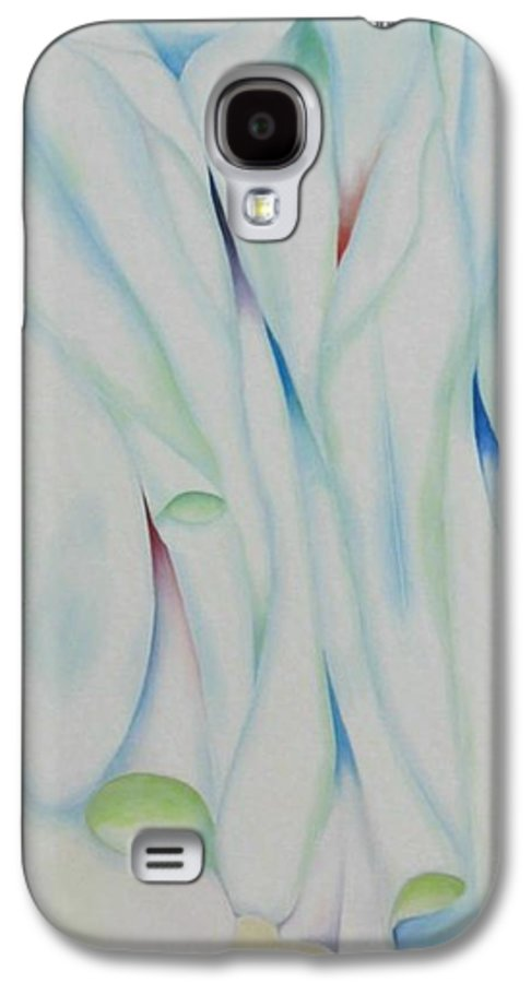 Oil Galaxy S4 Case featuring the painting The Function by Peggy Guichu
