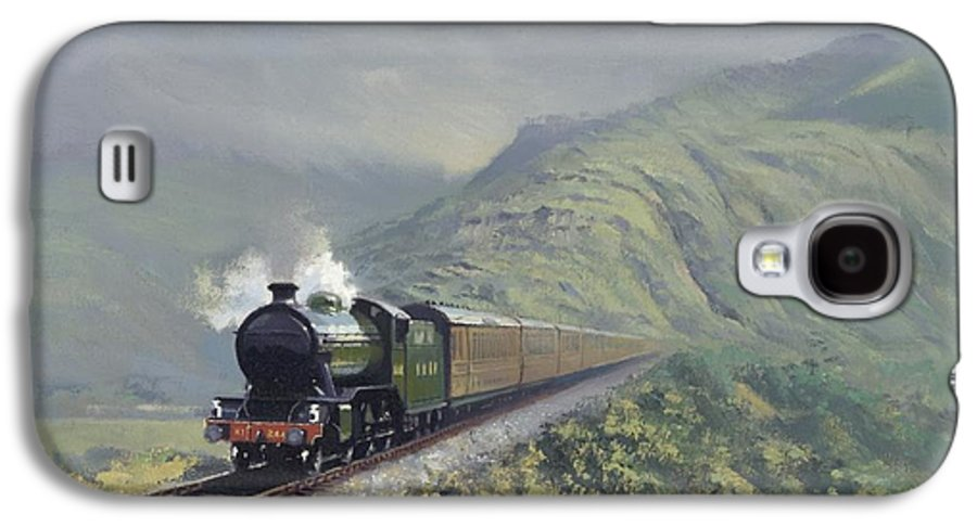 Steam Galaxy S4 Case featuring the painting the Great Marquess by Richard Picton