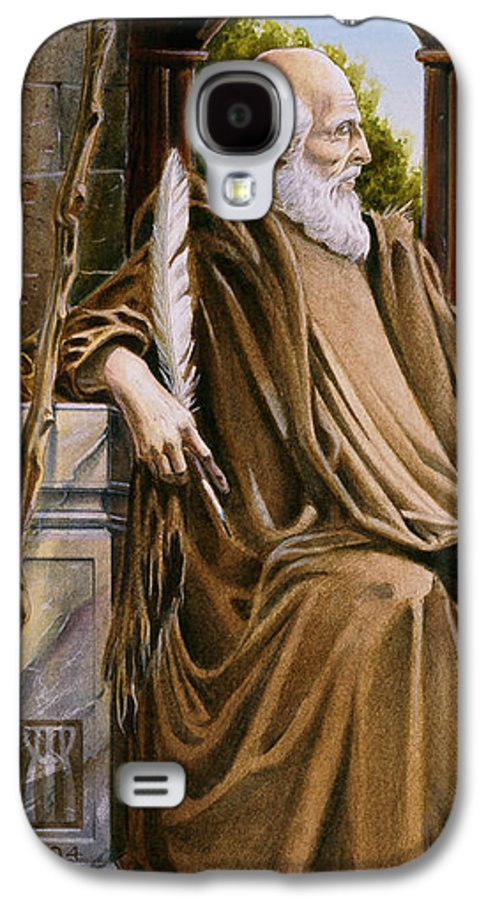 Wise Man Galaxy S4 Case featuring the painting The Hermit Nascien by Melissa A Benson