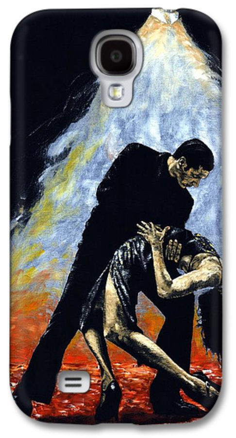 Tango Galaxy S4 Case featuring the painting The Intoxication Of Tango by Richard Young