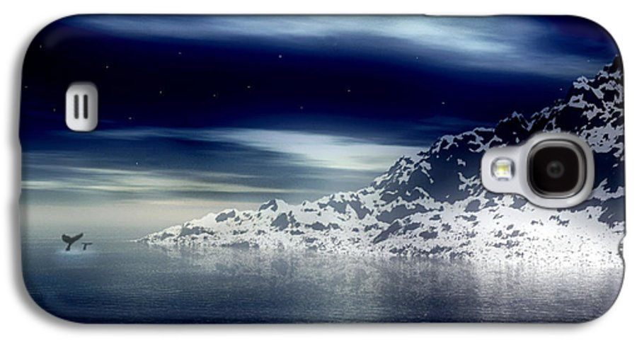 Arctic Galaxy S4 Case featuring the digital art The Journey Together by Kenneth Krolikowski