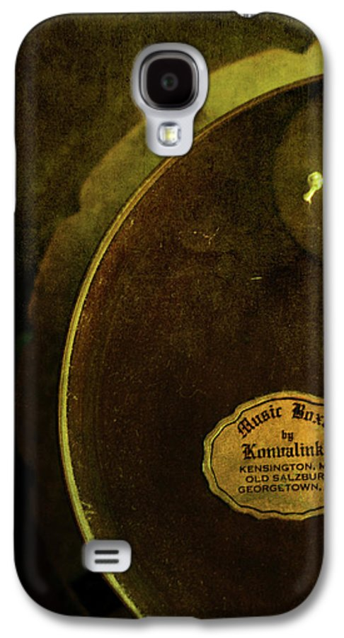 1950s Galaxy S4 Case featuring the photograph The Konvalinka Music Box by Rebecca Sherman