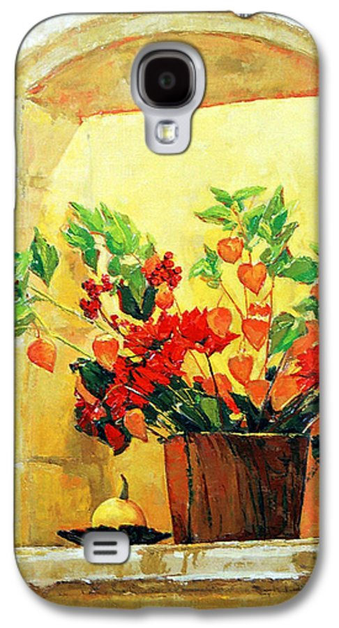 Still Life Galaxy S4 Case featuring the painting The Light by Iliyan Bozhanov