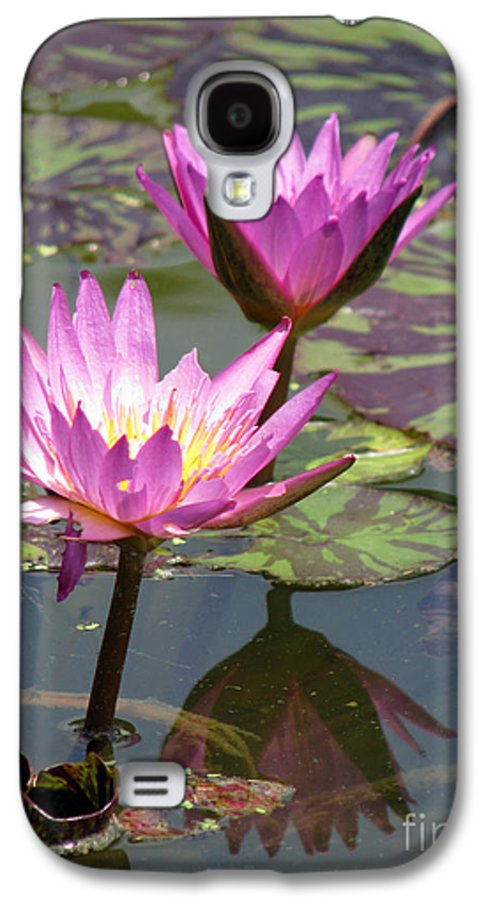 Lillypad Galaxy S4 Case featuring the photograph The Pond by Amanda Barcon