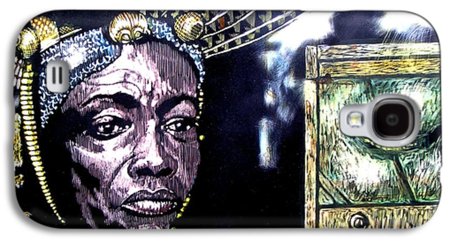 Galaxy S4 Case featuring the mixed media The Promise Keeper by Chester Elmore