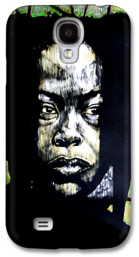 Portraits Galaxy S4 Case featuring the mixed media The Promise Of Spring by Chester Elmore