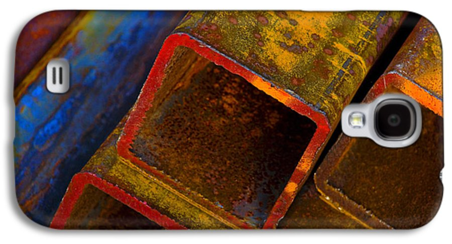 Abstract Galaxy S4 Case featuring the photograph The River by Skip Hunt