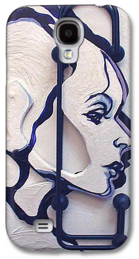 Construction Art Galaxy S4 Case featuring the mixed media The School Teacher by Lloyd DeBerry