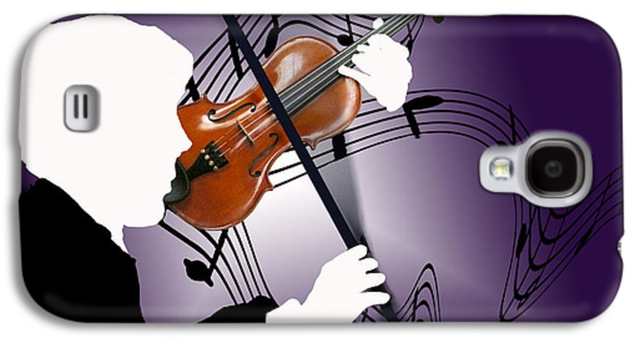 Violin Galaxy S4 Case featuring the digital art The Soloist by Steve Karol