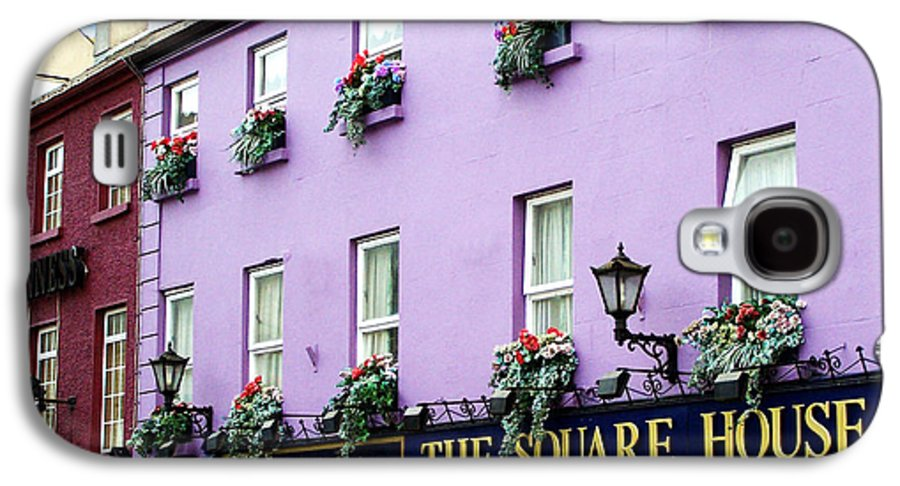 Irish Galaxy S4 Case featuring the photograph The Square House Athlone Ireland by Teresa Mucha