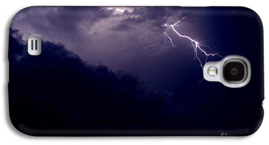 Sky Galaxy S4 Case featuring the photograph The Storm 1.3 by Joseph A Langley