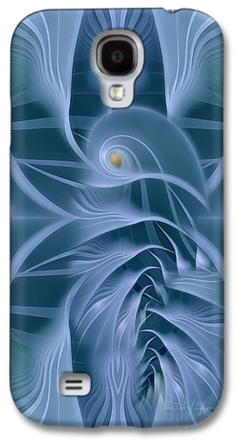 Fractal Galaxy S4 Case featuring the digital art The Tide Of Life by Gayle Odsather