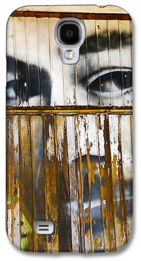Escondido Galaxy S4 Case featuring the photograph The Walls Have Eyes by Skip Hunt