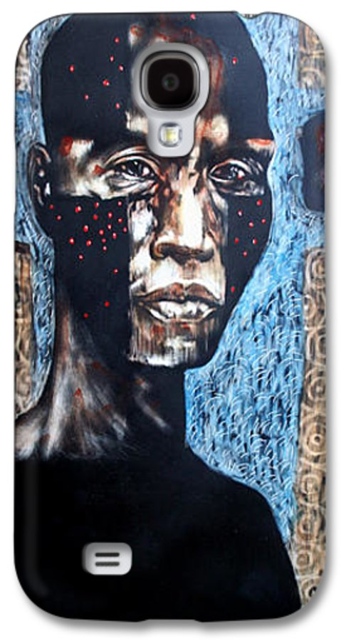 Religion Galaxy S4 Case featuring the mixed media The Zelot by Chester Elmore
