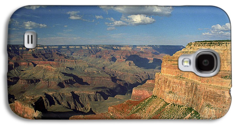 Grand Canyon Galaxy S4 Case featuring the photograph This Is My Father's World by Kathy McClure