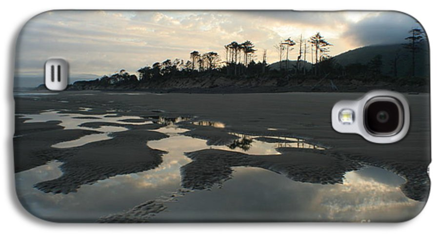 Oregon Galaxy S4 Case featuring the photograph Tidepools At Dawn by Idaho Scenic Images Linda Lantzy