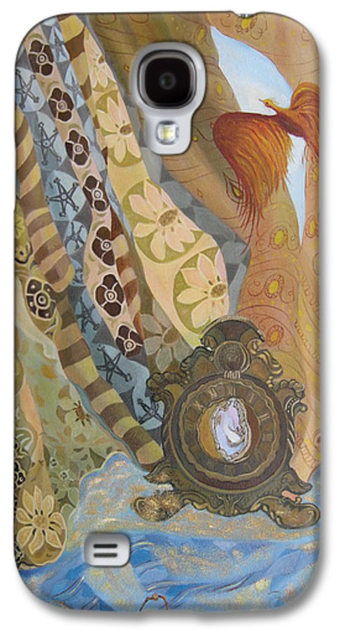Still Life Galaxy S4 Case featuring the painting Time by Antoaneta Melnikova- Hillman