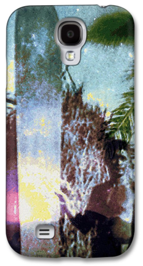 Tropical Interior Design Galaxy S4 Case featuring the photograph Time Surfer by Kenneth Grzesik