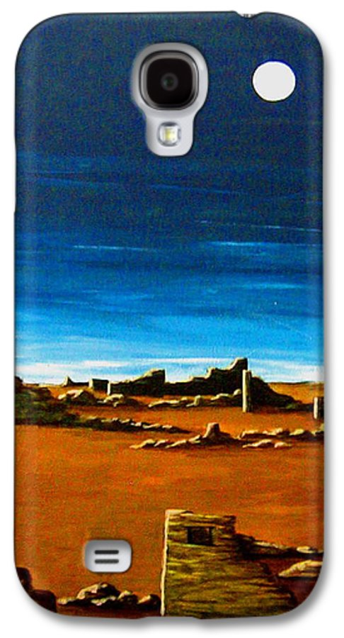 Anasazi Galaxy S4 Case featuring the painting Timeless by Diana Dearen
