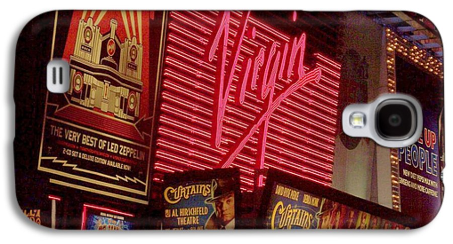 Times Square Galaxy S4 Case featuring the photograph Times Square Night by Debbi Granruth
