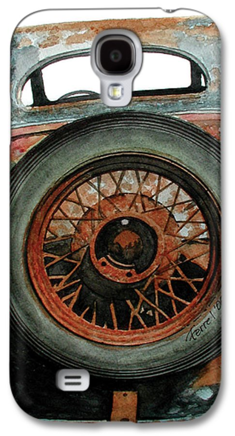 Car Galaxy S4 Case featuring the painting Tired by Ferrel Cordle