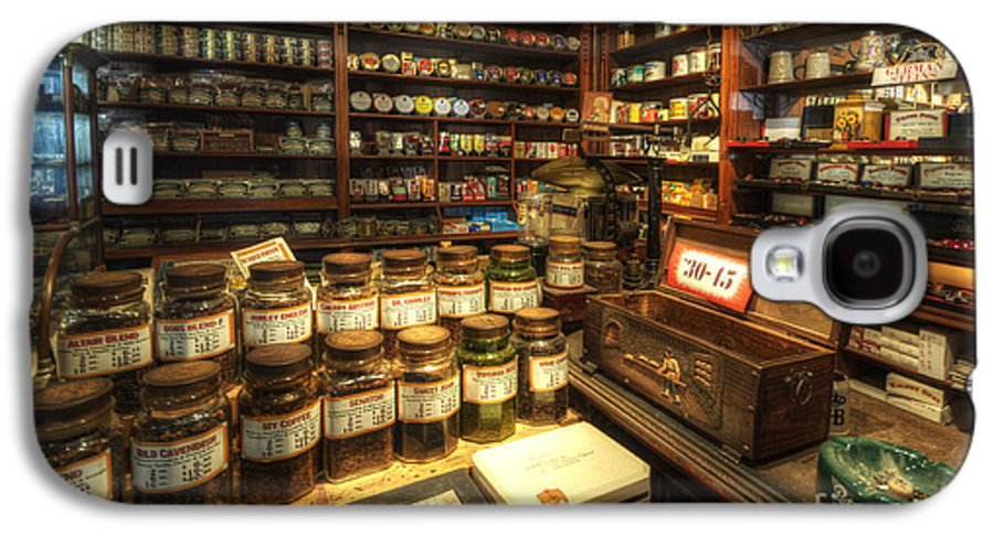 Art Galaxy S4 Case featuring the photograph Tobacco Jars by Yhun Suarez