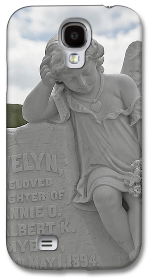 Bodie Galaxy S4 Case featuring the photograph Tombstone Angel For An Angel by Christine Till
