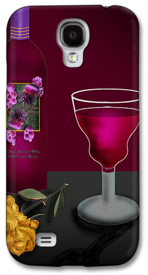 Still Life Galaxy S4 Case featuring the painting Tools Of The Trade by Anne Norskog