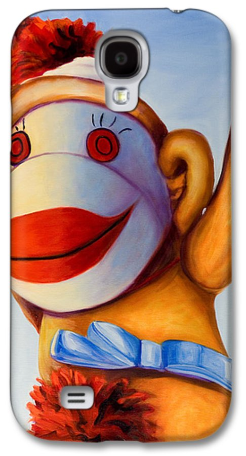 Children Galaxy S4 Case featuring the painting Touchdown by Shannon Grissom