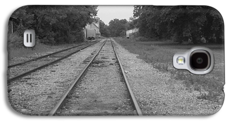 Train Galaxy S4 Case featuring the photograph Train To Nowhere by Rhonda Barrett