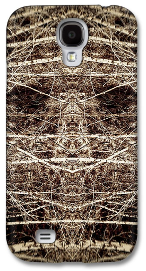Trees Galaxy S4 Case featuring the digital art Tree Mask by Wim Lanclus