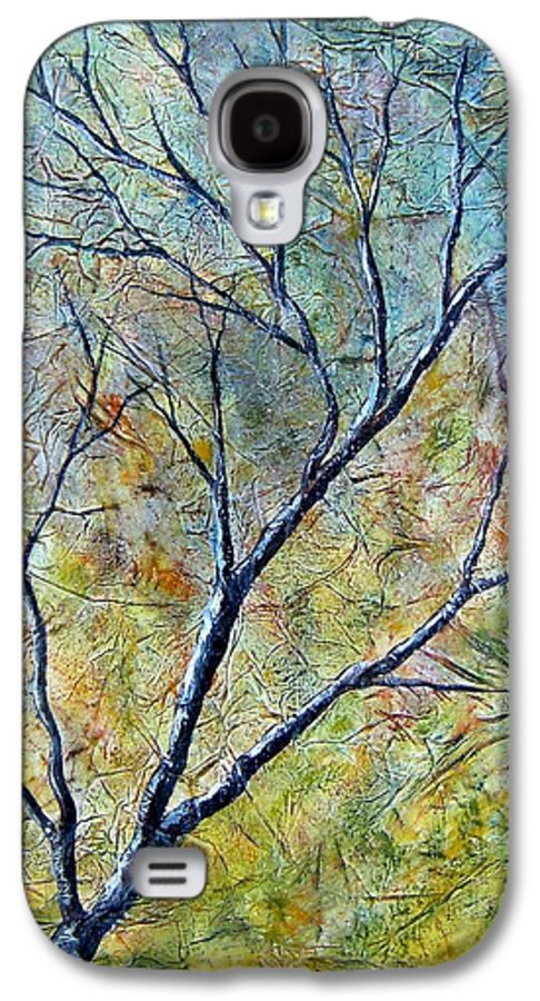 Galaxy S4 Case featuring the painting Tree Number One by Tami Booher