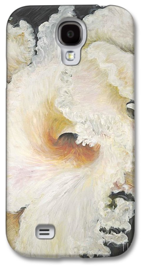 Flower Galaxy S4 Case featuring the painting Tropical Flowers by Nadine Rippelmeyer