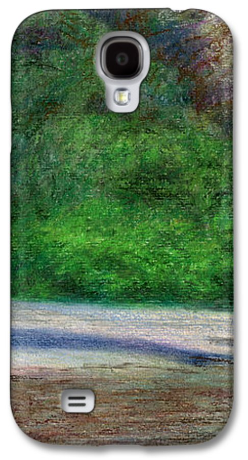 Rainbow Colors Pastel Galaxy S4 Case featuring the painting Tunnels Beach by Kenneth Grzesik