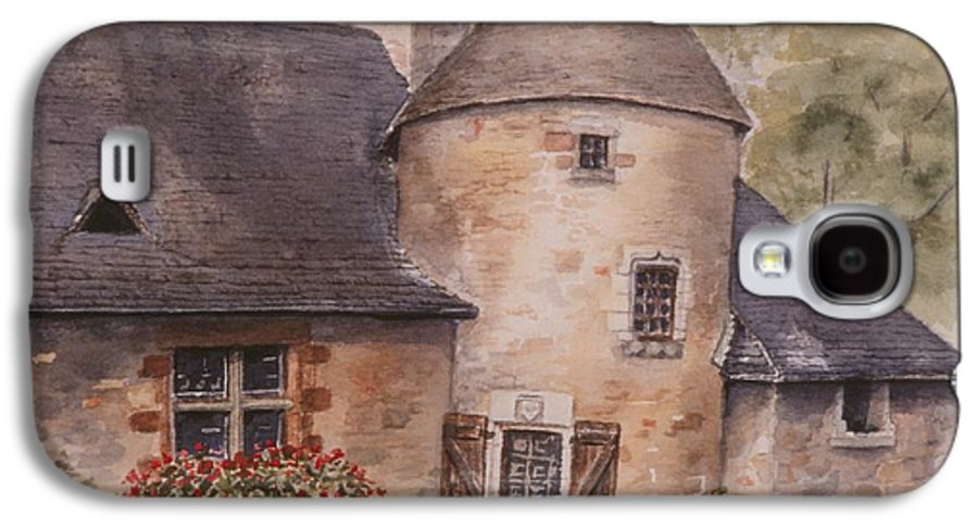 Watercolor Galaxy S4 Case featuring the painting Turenne by Mary Ellen Mueller Legault