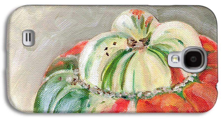 Still-life Galaxy S4 Case featuring the painting Turks Turban by Sarah Lynch