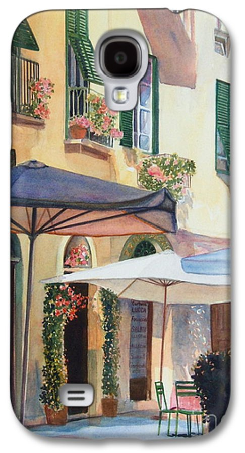 Tuscan Galaxy S4 Case featuring the painting Tuscan Sunlight by Ann Cockerill