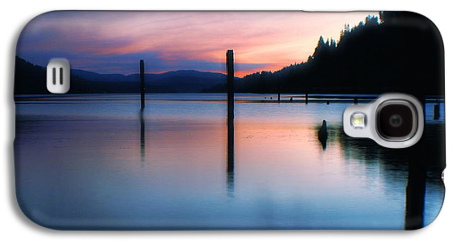 Dusk Galaxy S4 Case featuring the photograph Twilight by Idaho Scenic Images Linda Lantzy