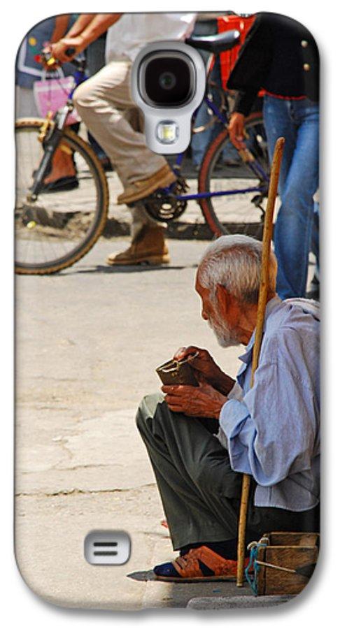 Beggar Galaxy S4 Case featuring the photograph Un Peso Por Favor by Skip Hunt