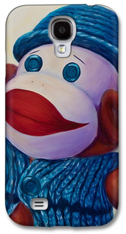 Children Galaxy S4 Case featuring the painting Uncle Frank by Shannon Grissom
