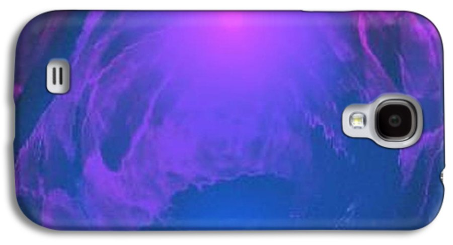 Water.underwater View.sun.colrs.blue.rose.grey.cold. Galaxy S4 Case featuring the digital art Underwater Kingdom by Dr Loifer Vladimir
