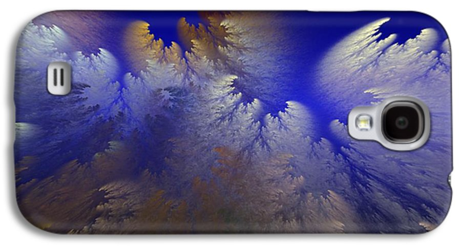 Abstract Digital Painting Galaxy S4 Case featuring the digital art Untitled 11-1-09 by David Lane
